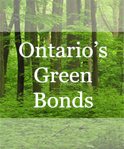 Ontario's Green Bonds